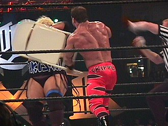 Chris Benoit - Benoit was disqualified from the 2000 King of the Ring for using a chair against Rikishi
