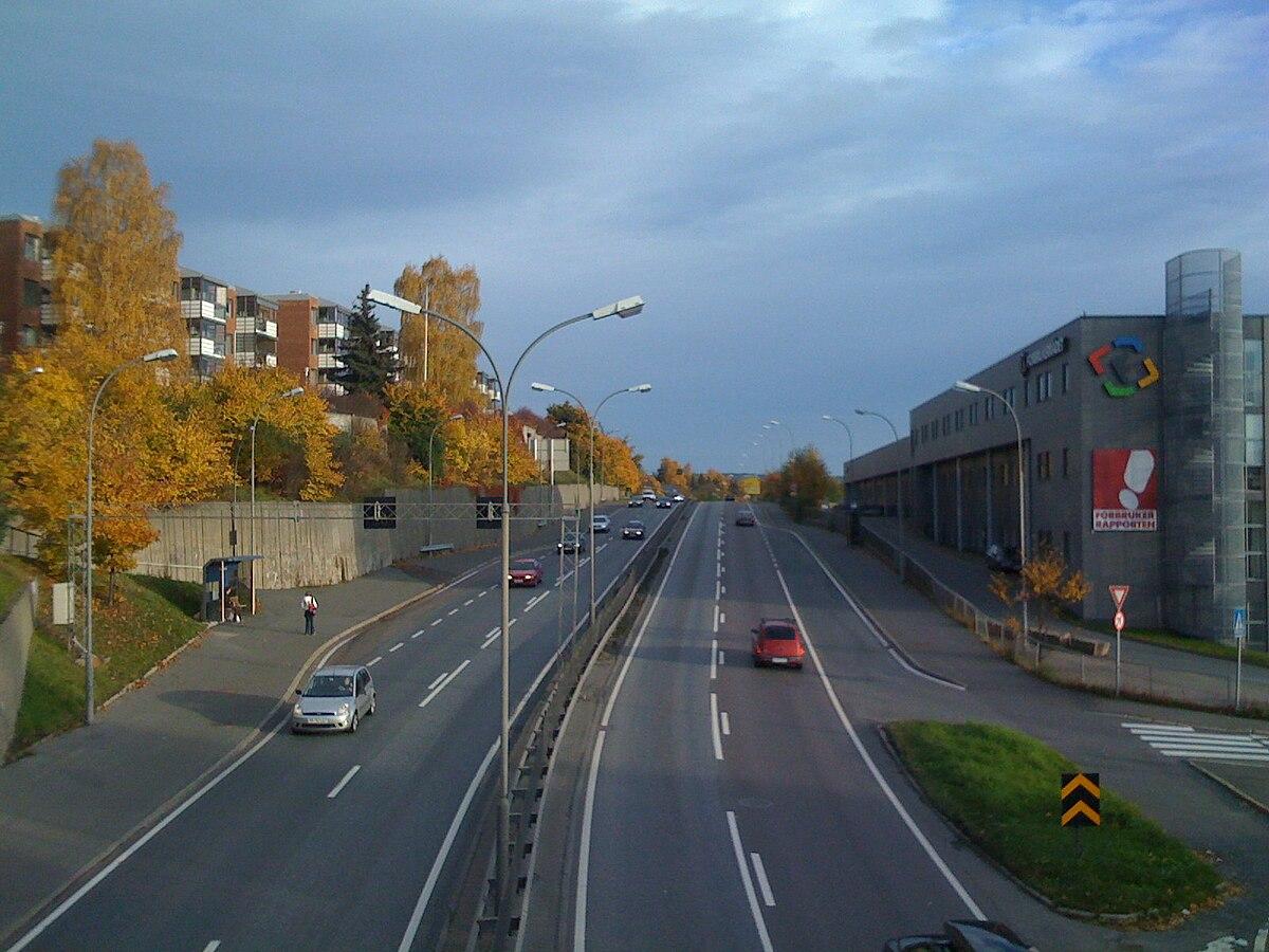 Ringveiene I Oslo Wikipedia