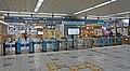 Rinkai-Line Shin-Kiba Station Gates.jpg