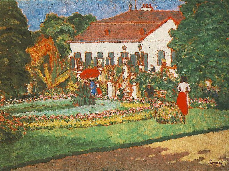 Fichier:Rippl-Rónai József A körtvélyesi kastély (c. 1907).jpg