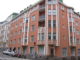 Risto Ryti - Ryti's home in Helsinki 1918-35