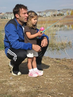 Ritchie Kotschau - Kotachau with daughter