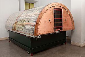 UA1 experiment - Section of the UA1 detector at Museo nazionale della scienza e della tecnologia Leonardo da Vinci of Milan