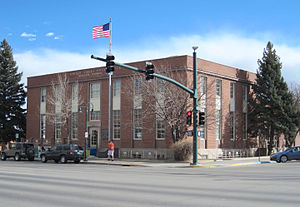 Riverton, Wyoming - Image: Riverton WY Post Office