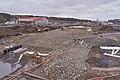 Road construction at E32 by Rudshøgda, Hedmark, Norway.jpg