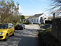 Road junction between Church Lane on the right and School Lane, Pyecombe - geograph.org.uk - 1746542.jpg