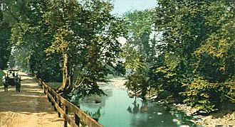 Williamstown, Massachusetts - The road to South Williamstown in 1907