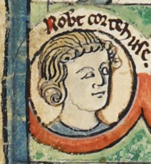 Robert Curthose - Image: Robert Curthose MS Royal 14 B VI