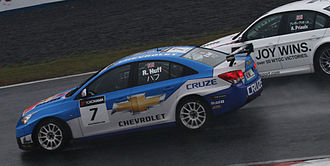 2010 World Touring Car Championship - Robert Huff (Chevrolet Cruze) placed third in the Drivers Championship