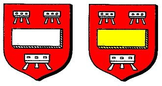 Robert de Stratford - Image: Robert de Stratfords Coats of Arms