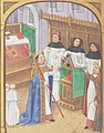 Robert le Pieux - Grandes Chroniques de France - BNF Fr2609 f144v.jpg