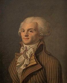 École française du XVIIIesiècle, Portrait de Maximilien Robespierre musée Carnavalet