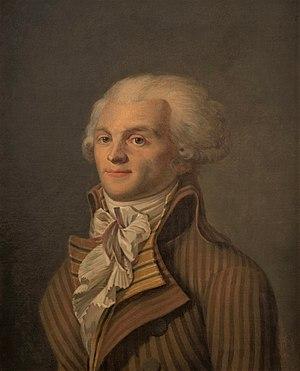 affiche Maximilien Robespierre