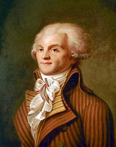 Maximilien Robespierre, French revolutionary lawyer and politician