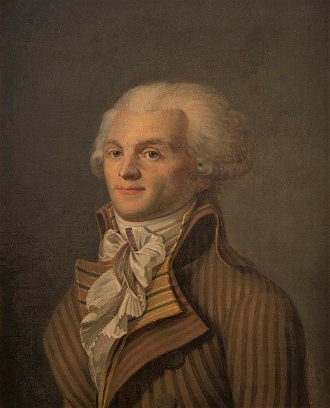 Portrait of Maximilien Robespierre, 1790