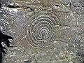 Rock Carving - Rocky Valley near Tintagel - geograph.org.uk - 647478.jpg