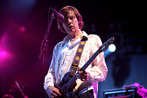Thurston Moore (Sonic Youth) at Rock en Seine ...