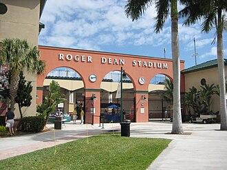2013 World Baseball Classic – Qualification - Image: Roger Dean Stadium