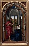 Rogier van der Weyden - The Altar of Our Lady (Miraflores Altar) - Google Art Project (right panel without frame).jpg