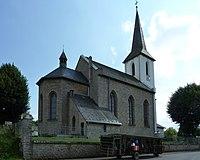 Rohr, Wendelinusstr. 1; kath. Pfarrkirche 7, von NO.jpg
