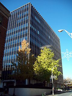 Ronald Reagan Federal Building and Courthouse (Pennsylvania) courts facility located in Harrisburg, Pennsylvania