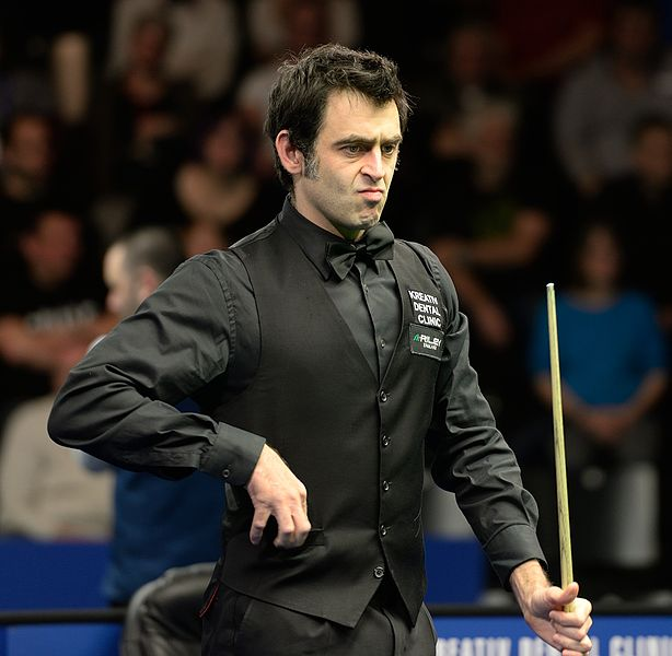 File:Ronnie O'Sullivan At Snooker German Masters (DerHexer