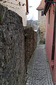 Rothenburg ob der Tauber, Stadtbefestigung, Mauer östlich Kobolzeller Tor, 002.jpg