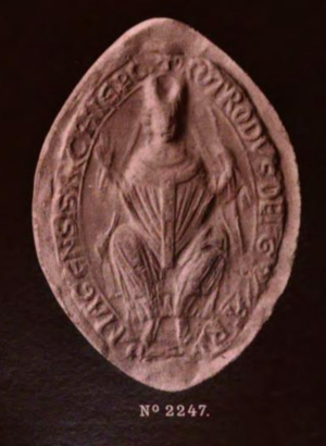 Rotrou (archbishop of Rouen) - Rotrou's archiepiscopal seal