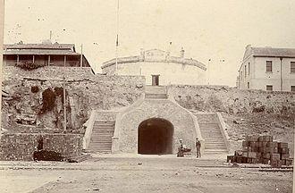Capital punishment in Australia - John Gavin was hanged outside the Fremantle Round House