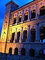 Rova Manjakamiadana Queen's Palace in Antananarivo Madagascar night illumination.jpg