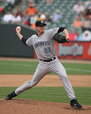 Roy Halladay - Halladay pitching for the Blue Jays in 2009
