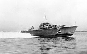 Coastal Forces of the Royal Navy - Motor Torpedo Boat MTB 5