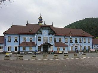 Ružomberok - Image: Ružomberok.Bahnhof