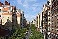 Rue Abel from Coulée verte René-Dumont, Paris 27 August 2016.jpg