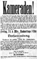 Ruhrgebiet Bergarbeiterstreik 1889 Versammlungsaufruf.png