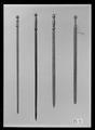 Runstav i form av svärd, Sverige, 1500-tal - Livrustkammaren - 43636.tif