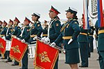 Russian EMD band at the Vostok parade 01.jpg