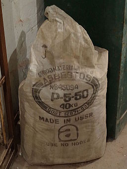Russian made asbestos, after 1983