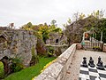 Ruthin Castle courtyard - panoramio (2).jpg