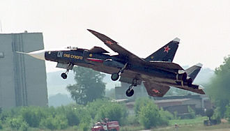 Post-PFI Soviet/Russian aircraft projects - The Su-47 was developed by Sukhoi to match the MiG 1.44.