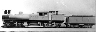 CGR Kitson-Meyer 0-6-0+0-6-0 - Builder's picture of CGR Kitson-Meyer no. 800, with  works number 4197 on the cab plate