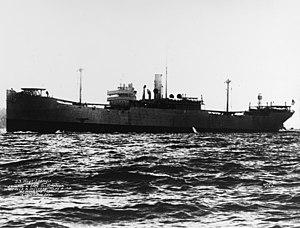 USS West Lianga (ID-2758) - SS West Lianga underway in May 1918