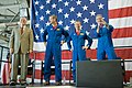 STS-125 Crew Return Ceremony and Autograph Session at Ellington Field (28224089752).jpg