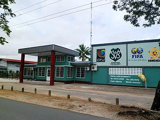 Surinamese Football Association - Head office in Paramaribo.