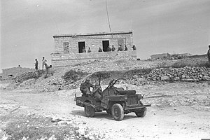 Al-Nabi Rubin, Acre - IDF soldiers during Operation Hiram, as photographed in Sa'sa' on 30 October 1948