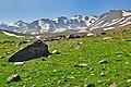 Sabalan slopes at an altitude of 3200 meters دامنه های سبلان در ارتفاع 3200متری - panoramio.jpg