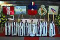 Sacerdotes en ceremonia en el Templo Votivo de Maipú.jpg