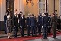 Saeimas priekšsēdētāja piedalās Francijas prezidenta oficiālajā sagaidīšanas ceremonijā - 50398430372.jpg