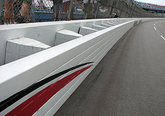 SAFER barrier - SAFER barrier at Talladega Superspeedway