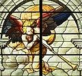 Saint-Chapelle de Vincennes - Baie 1 - L'amertume des eaux, détail de l'ange (bgw17 0744).jpg